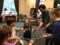 Levitating hula hoop